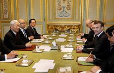 Việt Nam - Pháp nhất trí hợp tác toàn diện