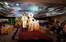 Sôi nổi hội thi 'Duyên dáng áo dài Saigontourist'