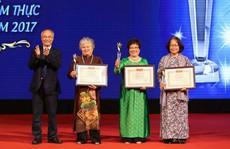 Truyền nhân ẩm thực cung đình Huế được vinh danh 'Nghệ nhân nấu ăn hàng đầu Việt Nam'