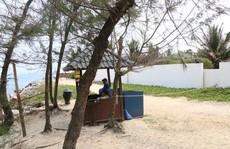 Bãi biển miền Trung bị 'xẻ thịt': 'Xâm thực' bờ biển Cửa Đại