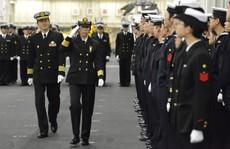 Nhật Bản có nữ chỉ huy hạm đội tàu chiến đầu tiên