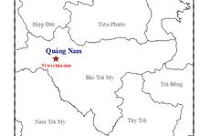 Động đất 3,4 độ richter ở Quảng Nam, người dân cảm nhận rung lắc