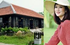 Ngây ngất với biệt thự 'dát' toàn gỗ quý của Hoa khôi Thu Hương