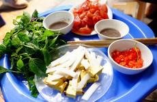 Sứa đỏ mắm tôm, món ngon kỳ lạ của Hà Nội