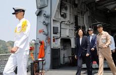 Trung Quốc báo tập trận, Đài Loan kiểm tra tàu chiến