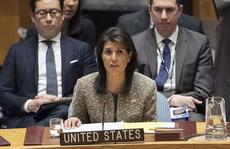 Đại sứ Mỹ tại LHQ: Mỹ đã 'nạp đạn và lên cò' với Syria