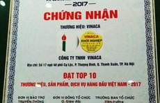 Vinaca chế 'thuốc' ung thư từ than từng lọt Top 10 thương hiệu hàng đầu Việt Nam