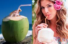 Uống nước dừa: Không phải ai cũng uống được đâu nha