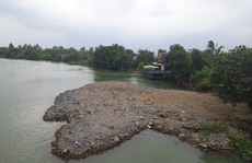 Vụ sông Đồng Nai lại bị lấp, lấn: Hiện hình mặt bằng trên sông