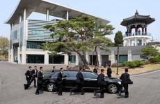 Dàn vệ sĩ bọc kín nhà lãnh đạo Kim Jong-un