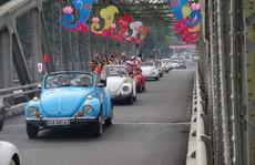 Ngắm dàn xe ô tô cổ Volkswagen 'náo loạn' cố đô Huế