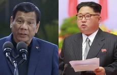 Tổng thống Duterte: 'Ông Kim Jong-un là người hùng, thần tượng của tôi'!