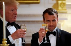 Đằng sau 'tình huynh đệ' Trump - Macron