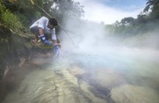 Dòng sông sôi sùng sục bí ẩn giữa rừng Amazon