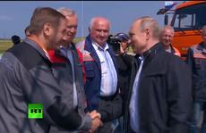 Nga khánh thành cầu tỉ USD nối liền Crimea
