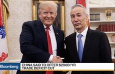 Trung Quốc nhượng bộ, đề xuất giảm thâm hụt thương mại với Mỹ?