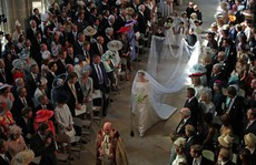Những khoảnh khắc khó quên của đám cưới hoàng gia Anh