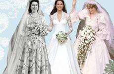 Những chiếc váy cưới huyền thoại của hoàng gia châu Âu