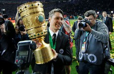 'Hùm xám' thua tan tác, trắng tay chung kết Cúp Quốc gia Đức
