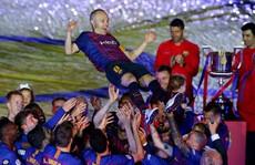 Coutinho lập siêu phẩm, Barcelona chia tay huyền thoại Iniesta