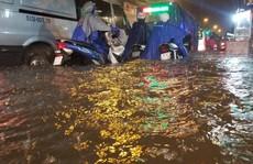 Quận nói ngập, Trung tâm Chống ngập TP HCM báo cáo không!