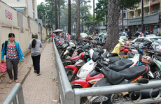 Tổng rà soát bãi giữ xe vỉa hè