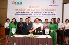 OCB và EVN HANOI hợp tác thu hộ tiền điện