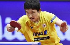 Thần đồng bóng bàn Nhật Bản gây sốc Trung Quốc