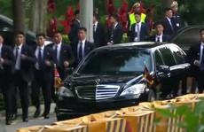 Những lớp 'lá chắn' quanh ông Kim Jong-un ở Singapore