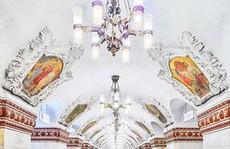 Những ga tàu điện ngầm đẹp như cổ tích của Moskva