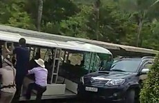 Lãnh đạo KDL Bà Nà Hills xin lỗi du khách vì ô tô điện gây tai nạn