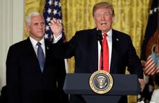 Ông Trump muốn lập lực lượng 'thống trị' không gian
