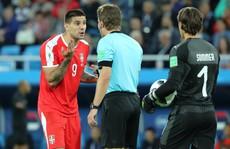 FIFA điều tra cáo buộc thiên vị trong thất bại của tuyển Serbia