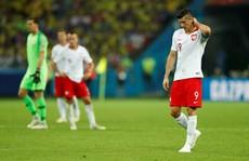 """Thua đậm Colombia, Lewandowski """"chê"""" đồng đội"""