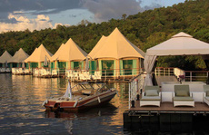 'Khách sạn trên sông' độc đáo cho những kẻ mộng mơ