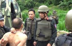 Nghẹt thở cuộc đấu súng vây bắt 2 'ông trùm' ma túy ở Lóng Luông
