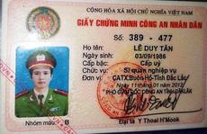 Một sĩ quan cắm thẻ ngành công an vay 330 triệu đồng