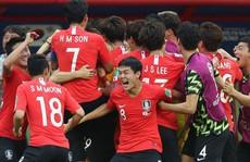 Hàn Quốc ăn mừng hụt vì…tưởng được vào vòng trong