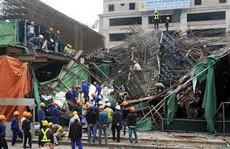 Sập giàn giáo tại nhà máy nhiệt điện, 5 người thương vong
