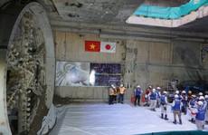 Đường hầm thứ 2 của tuyến metro số 1 hoàn thành