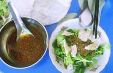 Bún rạm, món ngon mà hiếm thấy ở vùng biển Quy Nhơn