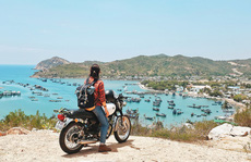 9X Hà thành và chuyến độc hành xuyên Việt bằng xe máy