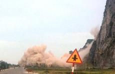 Thót tim cảnh doanh nghiệp nổ mìn trên quốc lộ