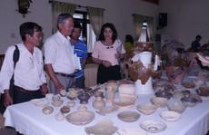 Phát hiện nhiều cứ liệu mới về gốm cổ Chăm Pa Bình Ðịnh