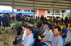 Vụ đội bóng mắc kẹt: Nông dân Thái Lan từ chối nhận đền bù