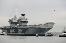 Tàu sân bay Anh có thể đến biển Đông tuần tra