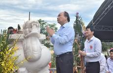 Thủ tướng dự khánh thành nghĩa trang liệt sĩ tại Quảng Nam