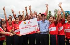 Khởi công cầu Dr Thanh - Lung Sen Dưới: Tân Hiệp Phát đem niềm vui về Cù lao Giêng