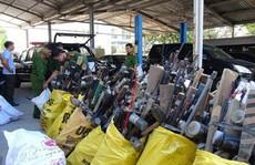 Quảng Nam: Vận động người dân giao nộp 1.465 khẩu súng
