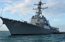 Mỹ phái 2 tàu chiến qua eo biển Đài Loan